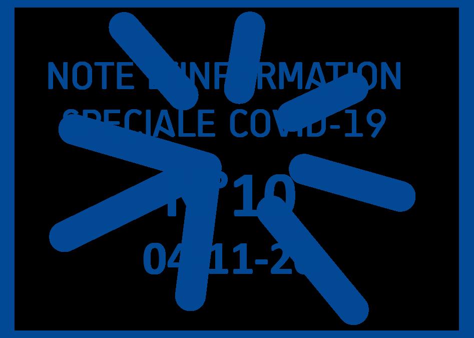 04-11-20-NOTE COVID-19 N°10 – Organisation générale