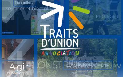 VOEUX 2021 de L'association Traits d'Union